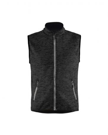 Blaklader 3842 Knitted Waistcoat (Antracit Grey/White)